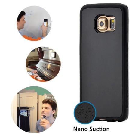 Praktiskt Anti-Gravity Silicon skal för Galaxy S7 EDGE