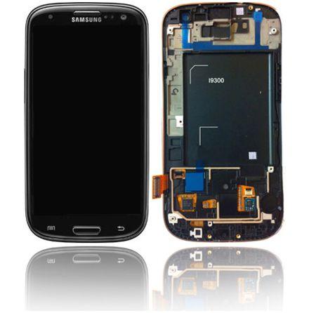 Samsung Galaxy S3 (i9300) - LCD Display Skärm SVART (Inkl Ram)
