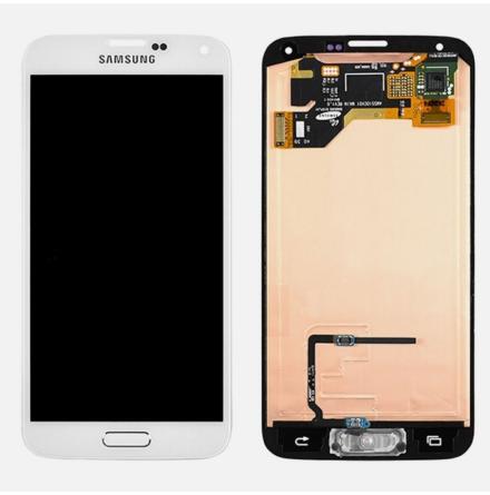 Samsung Galaxy S5 - LCD Display Skärm VIT