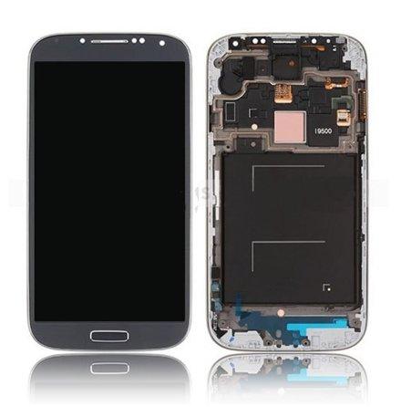 Samsung Galaxy S4 LTE I9505 - LCD Display Skärm SVART (Inkl Ram)
