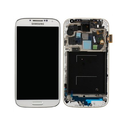 Samsung Galaxy S4 LTE I9505 - LCD Display Skärm VIT (Inkl Ram)