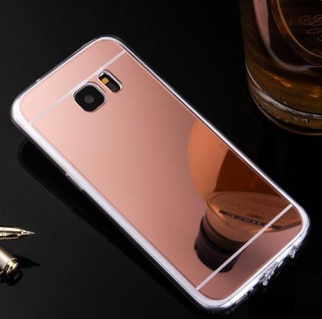 """Samsung Galaxy S6 - """"Vintage"""" från LEMAN med spegeldesign"""