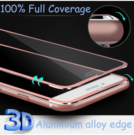 iPhone 7 ProGuard Skärmskydd 3D Aluminiumram