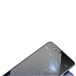 Huawei P9 Lite - Heltäckande 2.5D Skärmskydd från HuTech