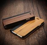 Elegant Plånboksfodral IPHONE 6/6S i äkta Bamboo Trä