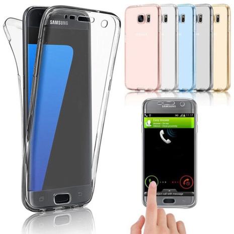 Crystal-Fodral med Touchsensorer (Dubbelt) Samsung Galaxy S10