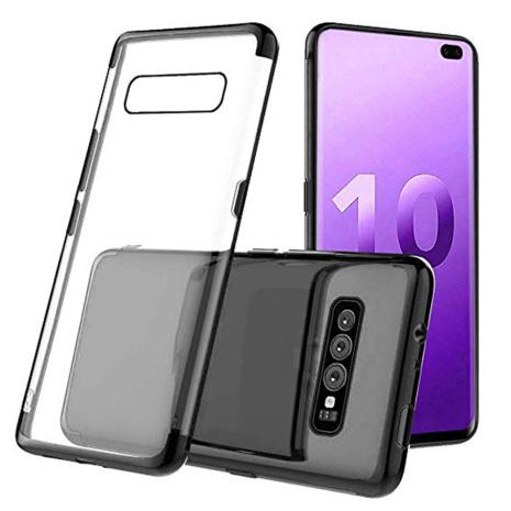 Effektfullt Skal av mjuk Silikon till Samsung Galaxy S10