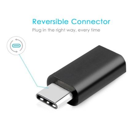 USB 3.1 Typ-C hane till Micro USB hona Adapter Converter