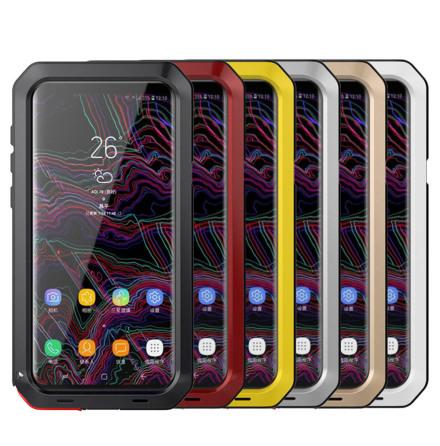 HEAVY DUTY-fodral (Stryktålig) Aluminum för Samsung Galaxy S9+