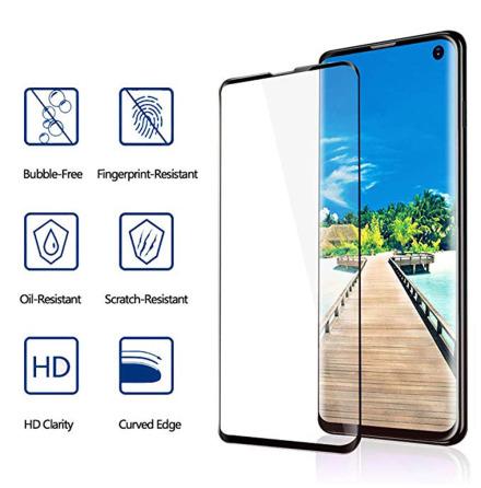HuTech EXXO-Skärmskydd i 3D-utförande till Samsung Galaxy S10