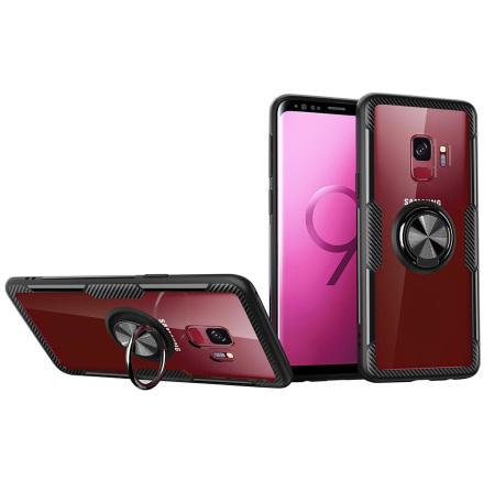 Samsung Galaxy S9 - Skal med Ringhållare (LEMAN)