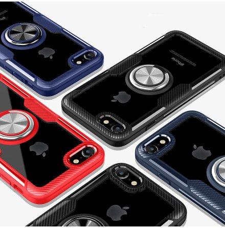 Stilsäkert Skal med Ringhållare - iPhone 7