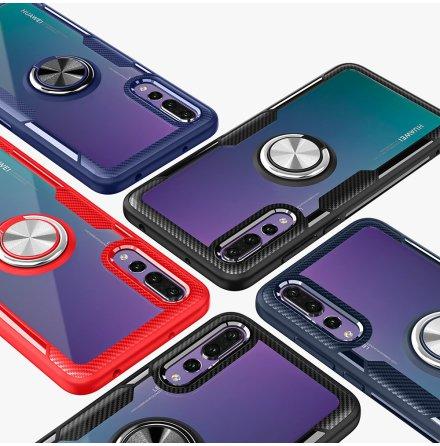 Skal med Ringhållare (LEMAN) - Huawei P20 Pro