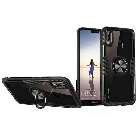 Huawei P20 Lite - Leman Skal med Ringhållare