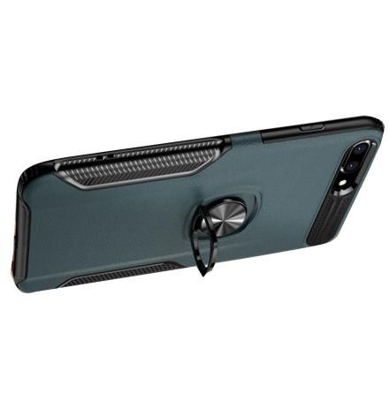 Praktiskt Leman Skal med Ringhållare - iPhone 8