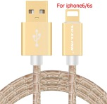 IPHONE 5/6/7 - 8 pin USB SnabbladdningsKabel (ORIGINAL)