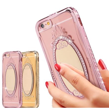 iPhone 5/5S/5SE -  Exklusivt Crystal-skal från SHENGO
