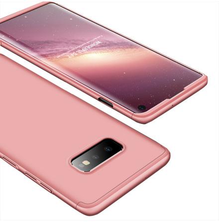 Elegant Dubbelsidigt Skydds Fodral (FLOVEME) - Samsung Galaxy S10 Plus