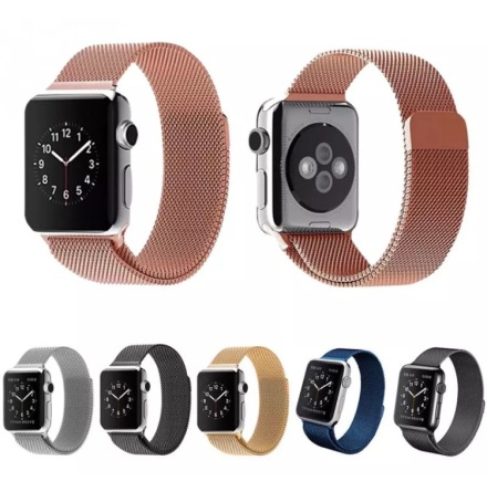 Apple Watch 42mm - Stilren stållänk (Rostfritt Stål)