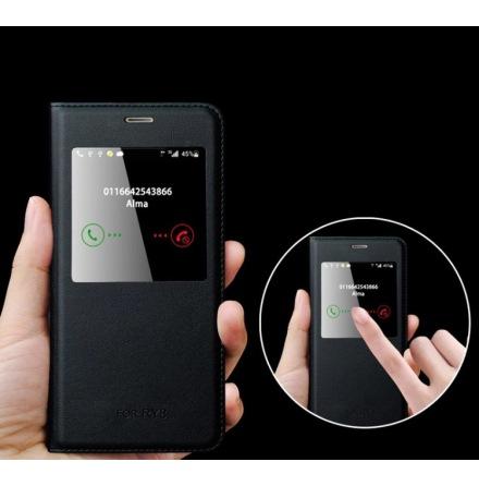 Smartfodral med Fönster & Svarsfunktion för Huawei Honor 8