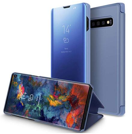 Samsung Galaxy S10 - Stilsäkert Praktiskt Fodral (LEMAN)