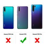 Huawei P30 - Skyddande Tunt Silikonskal (FLOVEME)