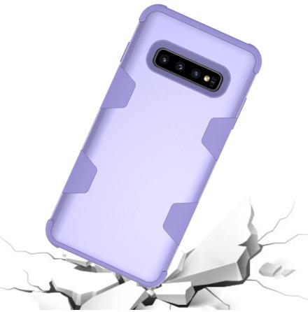Samsung Galaxy S10E - Exklusivt Skyddande LEMAN Skal (RUGGED ROBOT)