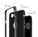 Stilrent skal till iPhone 5/5S/5SE från FLOVEME's (CARBON-serie)