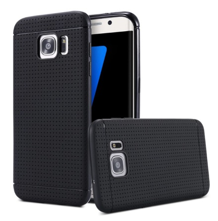 Galaxy S7 Edge - Stilrent Silikonskal från FLOVEME