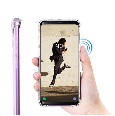 Samsung Galaxy S9 Plus - Skyddande Praktiskt Silikonskal