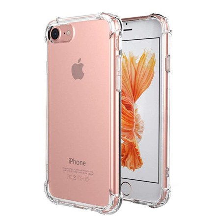 iPhone 6/6S - Stötdämpande Silikonskal (FLOVEME)