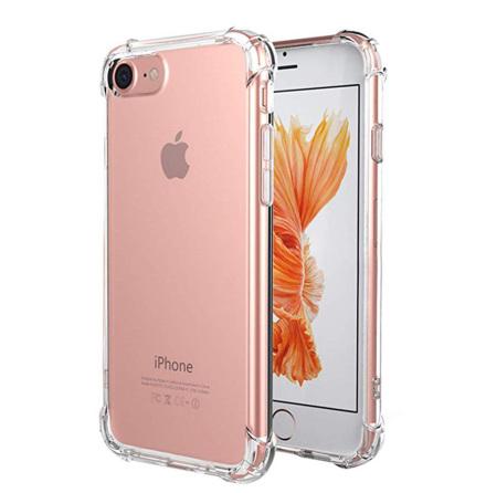 iPhone 7 - Skyddsskal (Tjocka Hörn) Silikon FLOVEME