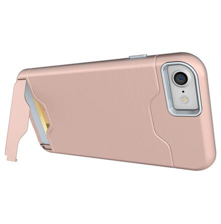 iPhone 8 - Praktiskt Elegant Skal med Kortfack