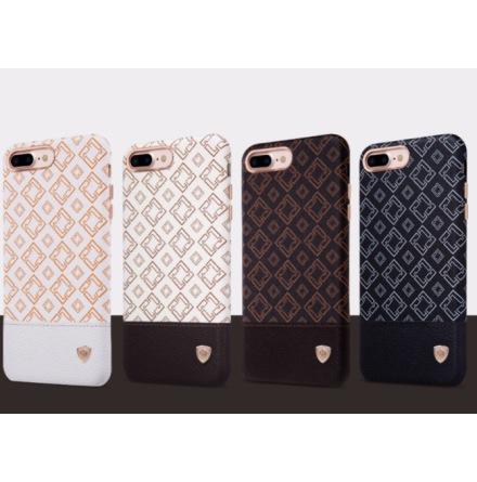 iPhone 7 - Elegant skal med läderdetalj från NILLKIN