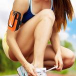 Universal Vattentät Armbandsväska Sport Fitness Hörlursingång
