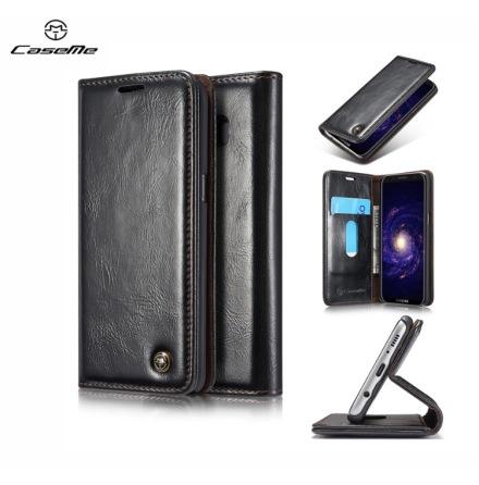 Elegant Plånboksfodral i Läder för Galaxy S8 från CASEME