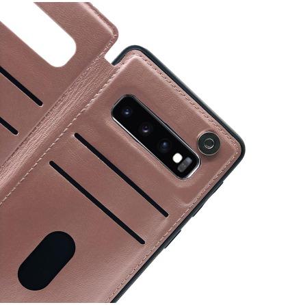 Samsung Galaxy S10 Plus - Praktiskt Skyddande Skal Kortfack