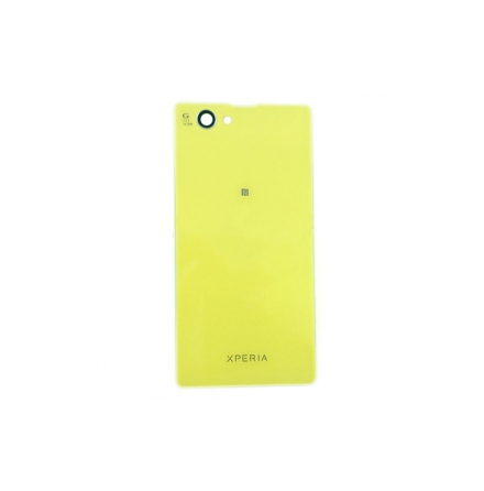 Sony Xperia Z1 Compact - Batterilucka/Baksida (Gul)