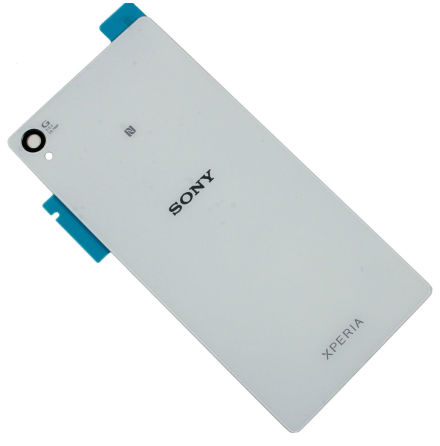 Sony Xperia Z3 - Batterilucka/Baksida (Vit)