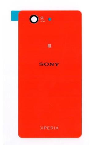 Sony Xperia Z3 Compact - Batterilucka/Baksida (Röd)