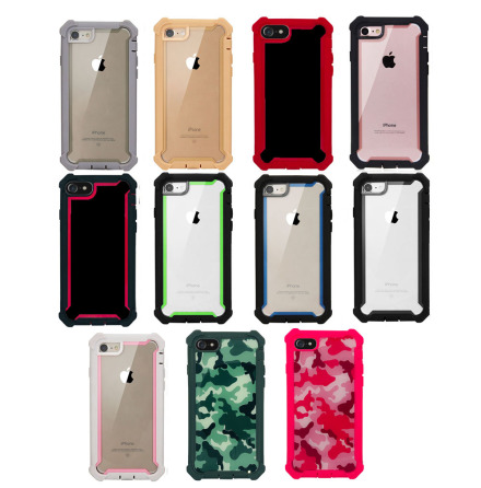 iPhone 6/6S Plus - Effektfullt EXXO Skyddsfodral med Hörnskydd