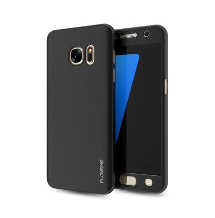 Praktiskt Skyddsfodral för Galaxy S6 EDGE  (2 delar)
