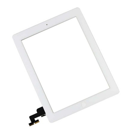 iPad 2 Touchscreen med Digitizer (VIT) inklusive Hemknapp