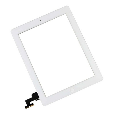 iPad 2 Touchscreen med Digitizer (VIT) inklusive Hemknapp