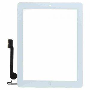 iPad 3 Glasskärm/Touch screen (VIT) inklusive homeknapp