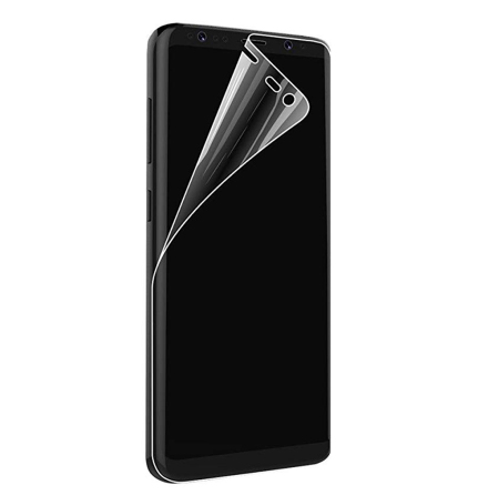 S8 Skärmskydd Fram- & Baksida 9H Nano-Soft HD-Clear