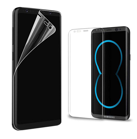 S8+ Skärmskydd Fram- & Baksida 9H Nano-Soft HD-Clear