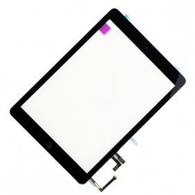 iPad Air Touchscreen med Digitizer (SVART) Inklusive Hemknapp