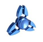 Fidget Spinner Metall Aluminium Claw-Spinner (Lång spinntid)