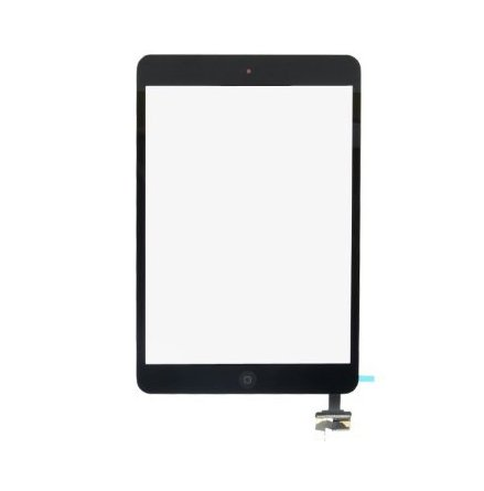 iPad Mini Touchscreen med Digitizer (SVART) Inklusive Hemknapp
